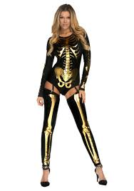 women u0027s gold bad to the bone costume