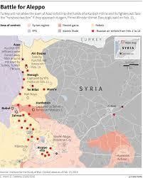 Syria On A Map by Us Russia Ceasefire Deal In Syria Business Insider
