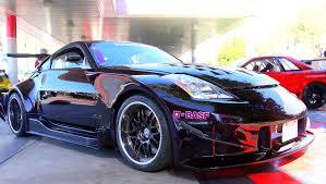 nissan 350z matte black high end performance custom nissan 350z auto moto japan bullet