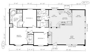 3 Bedroom Modular Home Floor Plans Westwood WC7 Manufactured And