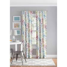 Thermal Cafe Curtains Interiors Design Fabulous Yellow Gray And Turquoise Curtains