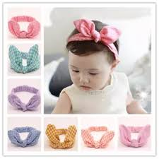 baby girl hair bands 8 pcs baby girl elastic turban headbands wrap rabbit ear hair