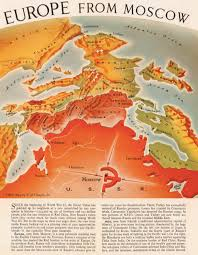 moscow map world map shows how communism threatened 1950s europe big think