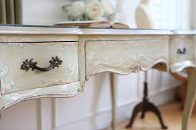 Shabby Chic Secretary Desk by Shabby Chic Vintage Executive Desk Writing Desk With Removable