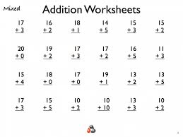first grade mental math worksheets word problems printable 1 koogra