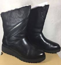ugg s emalie boot ugg black wedge boots ebay