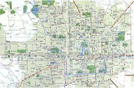 Beijing Subway Map by Beijing City All Maps Menu By China Report