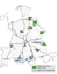 Dallas Neighborhoods Map by Neighborhoodplus