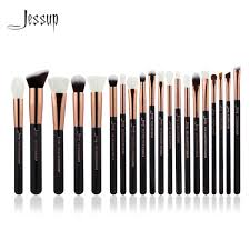 Professional Makeup Tools Aliexpress Com Buy Jessup Rose Gold Black Professional Makeup