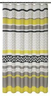 Gray Chevron Shower Curtain Mould Proof Shower Curtain Argos Centerfordemocracy Org