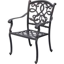 Aluminum Outdoor Patio Furniture by Amazon Com Darlee Santa Monica Cast Aluminum Outdoor Patio