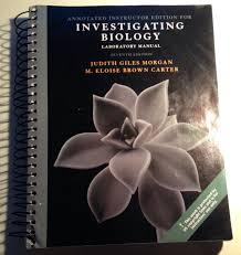 investigating biology laboratory manual judith giles morgan m