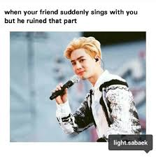 Cute Friend Memes - friends memes exo cute exo meme exo macrons image 4309503