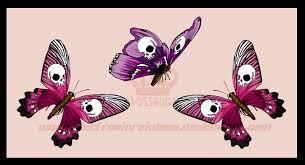 skullbutterflies design by electronicrainbow on deviantart