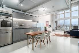 fresh listing in vancouver concrete and steel architectural loft