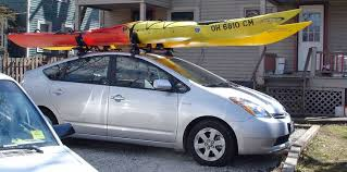 roof rack for toyota prius how to choose the right kayak roof rack go kayak now