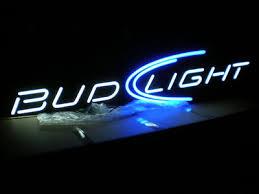 bud light neon light authentic nib bud light 6ft opti neon sign antique price guide