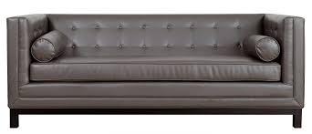 Grey Leather Tufted Sofa Grey Leather Tufted Sectional Sofa Ideas Interior Design