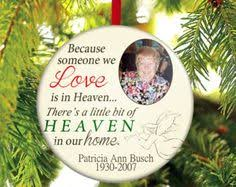 because someone we is in heaven personalized custom