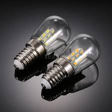 refrigerator light bulb size mini size 2w e14 bulb 24 led refrigerator light fridge l glass