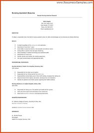 sample nursing assistant resume sample resume resumes job