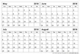 printable calendar 2018 august may through august 2018 calendar rudycoby net