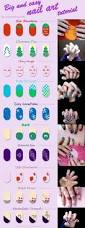 big and easy nail art tutorial by evilstrawberrycookie on