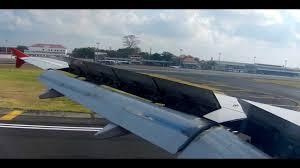airasia ngurah rai airport airasia a320 200 landing at ngurah rai airport denpasar youtube