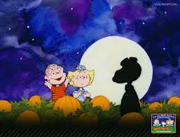 vintage moon pumpkin halloween background peanuts wallpapers snoopy desktops free movie wallpapers