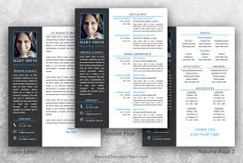 resume template with picture insert resume template microsoft word