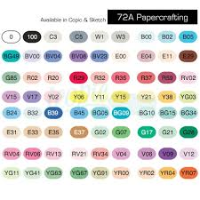 copic sketch marker 72 piece set a papercrafting 72a icopic com