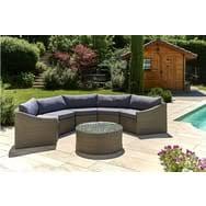 canape de jardin en resine tressee pas cher salon de jardin mobilier de jardin pas cher à prix auchan