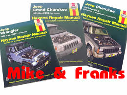 reparaturanleitung jeep wrangler yj tj jk cherokee yj kj grand