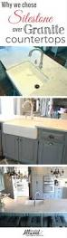 why we chose silestone countertops and to lower our kitchen bar