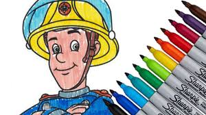 fireman sam 2016 coloring