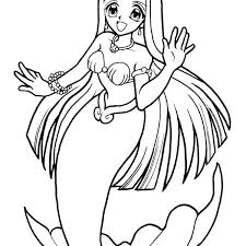 coloring pages download coloring pages mermaid interior free