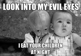 Adalia Rose Meme - adalia rose evil eyes memes quickmeme