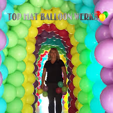 balloon delivery orange county ca top hat balloon werks balloon event decorations orange county