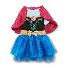 frozen dress for halloween disney frozen toddler u0027s dress u0026 capelet anna