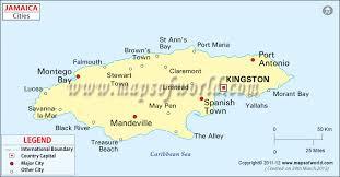 louisiana map city names jamaica cities map major cities in jamaica