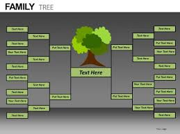 powerpoint family tree template download free editable family tree