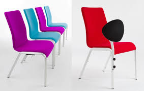 comfortable chair for bars aluminum structure anatomic idfdesign