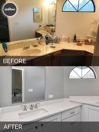 charles u0026 cindy u0027s master bathroom before u0026 after pictures home
