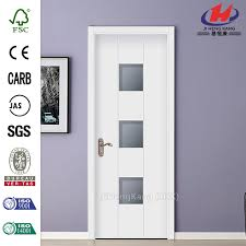Decorative Glass Interior Doors 4 Panel Shaker Beveled Glass Interior Doors Wood Beveled Glass