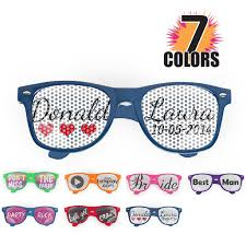 personalized sunglasses wedding favors which personalized wedding sunglasses to gift him or on your