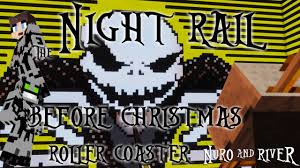 the night rail before christmas a nightmare before christmas