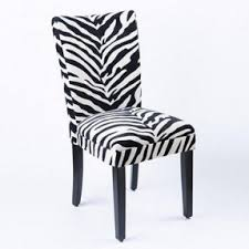 Zebra Dining Chairs Animal Print Dining Room Chairs Foter