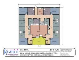 exles of floor plans medical clinic floor plan exles administration office floor plan