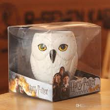 owl mug new creative harry potter haidewei owl mug 3d stereoscopic relief