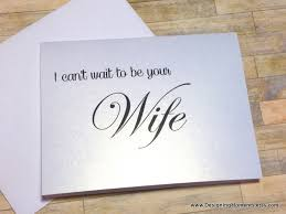 wedding card to groom i can t wait to be your wedding card groom wedding